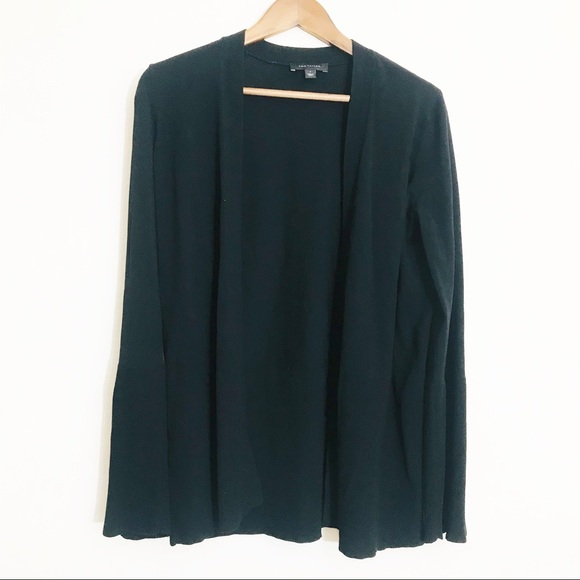 Ann Taylor Bell Sleeve Open Cardigan Size Small